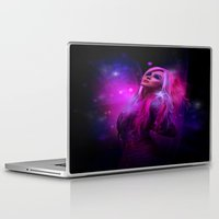 hologram Laptop & iPad Skins featuring Jem and the Hologram by Claudia Digital Graphics