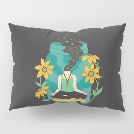 Meditation in a Jar Pillow Sham