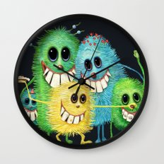 Happy Families Wall Clock