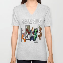 Guardians of the Galaxy (Print) Unisex V-Neck