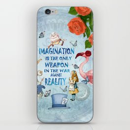 Alice In Wonderland - Imagination iPhone Skin