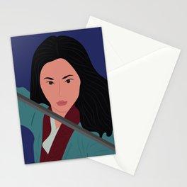 Mulan Warrior Princess Stationery Cards