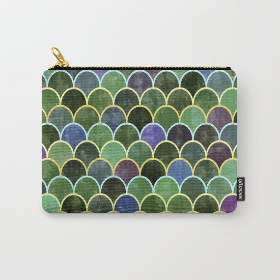 Watercolor Lovely Pattern VVII Carry-All Pouch