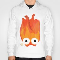 calcifer Hoodies featuring Calcifer's Curse by HSuits