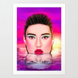 Summer Pool Kunstdrucke