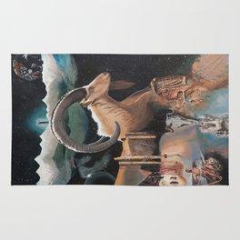 Capricorn- The Zodiac Wildlife Series Rug