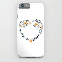 Cupid´s Favorite Florist Flowers Bouquet Gardener Gift iPhone Case
