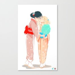 Tanabata Festival Canvas Print