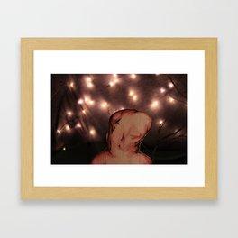 Starry Knight 2 (WaterWings) Framed Art Print