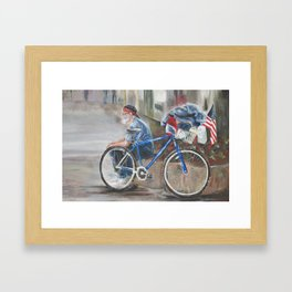 The Patriot Framed Art Print