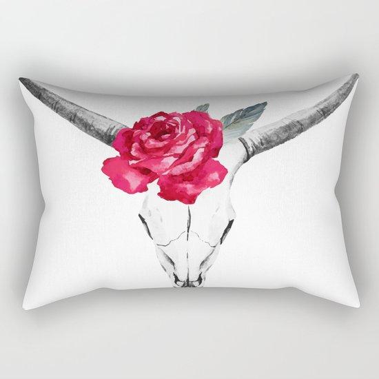 Animal Skull 01 Rectangular Pillow