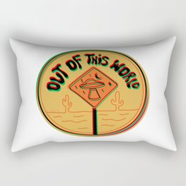 Out of this world in 3d Rectangular Pillow