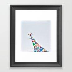 Show Your Real Spots - Giraffe Framed Art Print