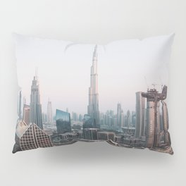 Dubai Skyline Sunset | Travel Photography | Pillow Sham