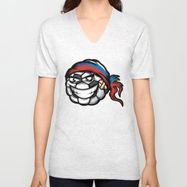 Football - Russia Unisex V-Neck