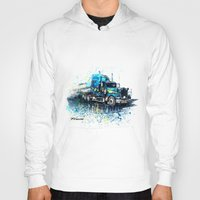 truck Hoodies featuring Truck by Svetlana Sewell