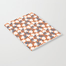 Sweet Orange Floral Notebook