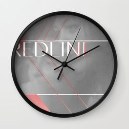 REDLINE Wall Clock