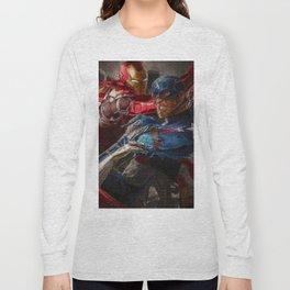 War of superhero Long Sleeve T-shirt