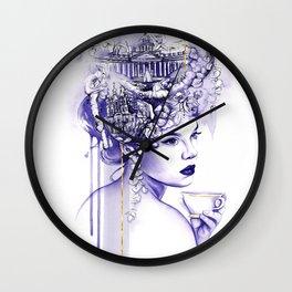 Miss Saint Petersburg Wall Clock