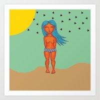 SummerTan Desert XICA Art Print