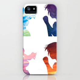 weathering with you hina sky print iPhone Case