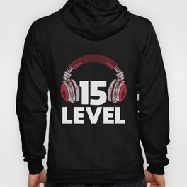 Gamer Gaming 15th Birthday Present Video Game Hoody