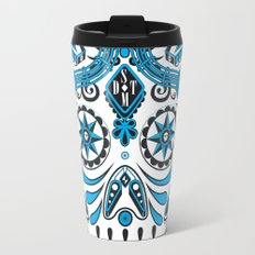 Straight Down the Middle Travel Mug