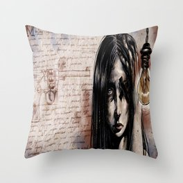 Cluster Migraine Throw Pillow