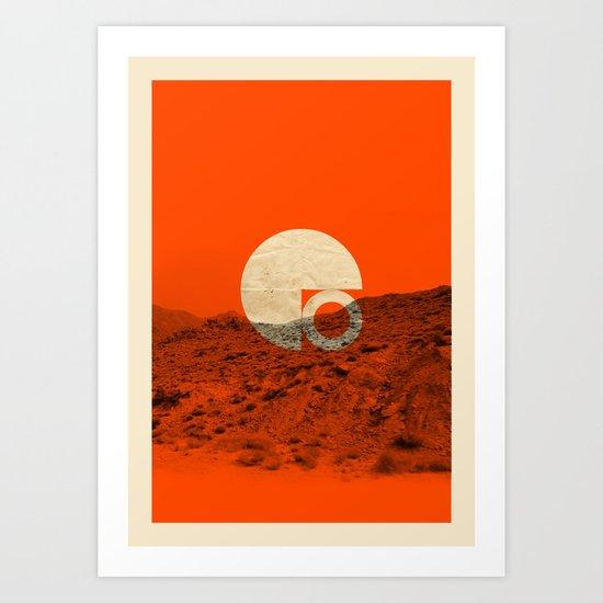 Symbol of Chaos Art Print