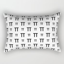 Pi Rectangular Pillow