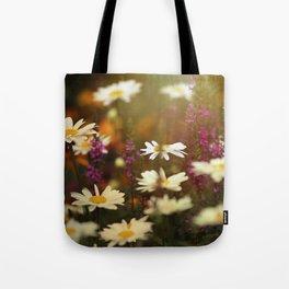 Daisy Haze Tote Bag