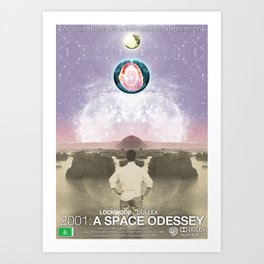Space Odessey Art Print