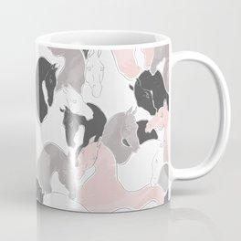 Playing Horses pattern Coffee Mug