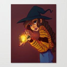 Light witch Canvas Print
