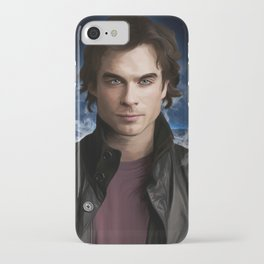 Damon Salvatore (Ian Somerhalder) iPhone Case