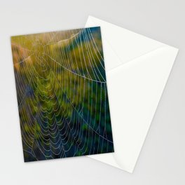 Webs of Intrigue Stationery Cards