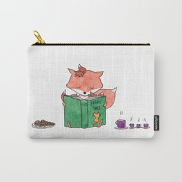 Little foxes - Reading together Carry-All Pouch