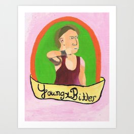 Young and Bright Pete Dunne Art Print