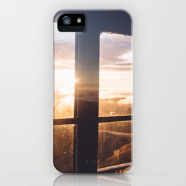 Rainier Sunrise iPhone Case