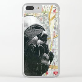Stalking Clear iPhone Case