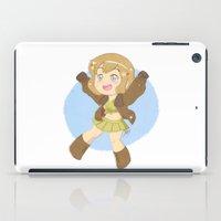 hetalia iPad Cases featuring Chibi fem!America by gohe1090