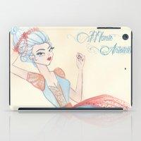 marie antoinette iPad Cases featuring Marie Antoinette by carotoki art and love