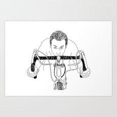 Bike Brett  Art Print