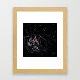 Wait for a Star Framed Art Print