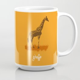 4-legged Exotica Series: Giraffe Coffee Mug