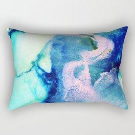 Rosa Caelum Rectangular Pillow