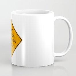 Caution Low Flying Aircraft Coffee Mug