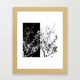 Yin Yang Bush Framed Art Print