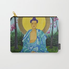 Meditation in bloom Carry-All Pouch